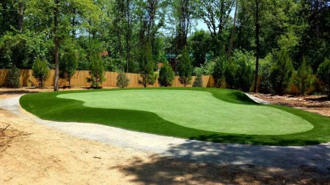 Artificial Turf: Putting Green