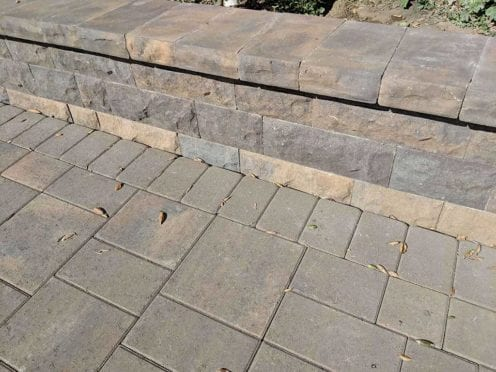 Belgard Belair Wall and Cap