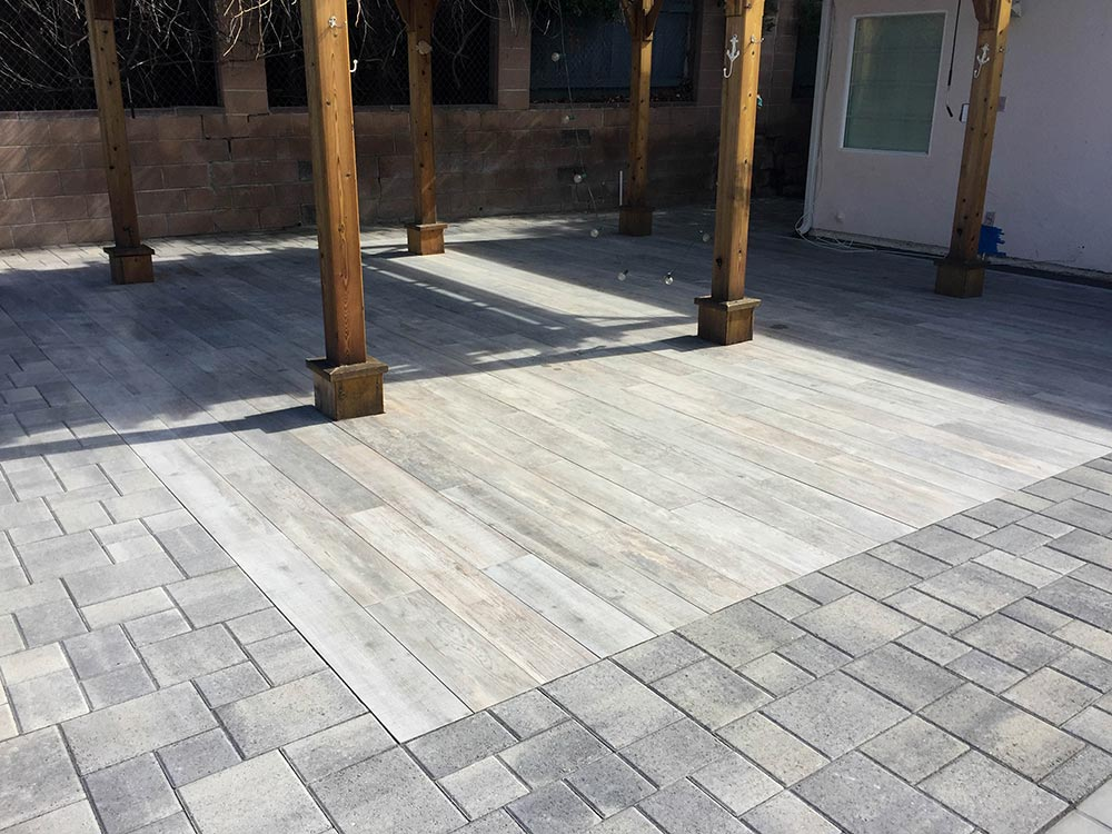 Belgard Porcelain Moon Patio Pavers