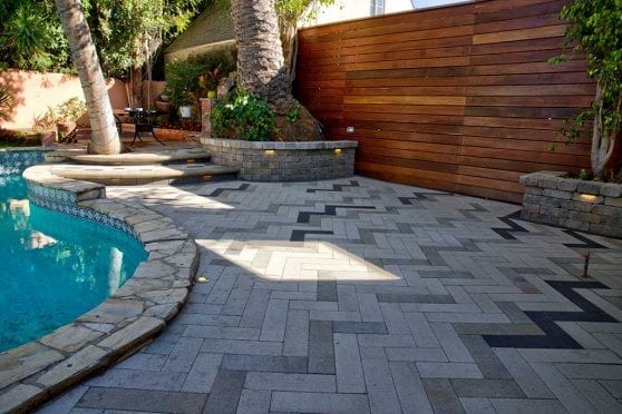 Pool Deck Paving Project