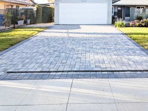 Angelus Antique Cobble Gray Charcoal Gray Charcoal Pavers